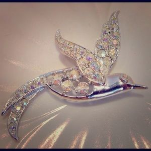 Sarah Coventry AB Bird Brooch